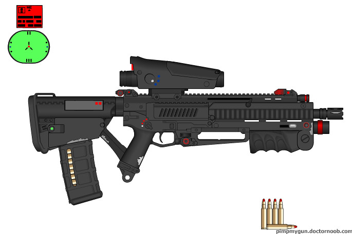 30 06 bullpup ar decided to make something new this time flickr