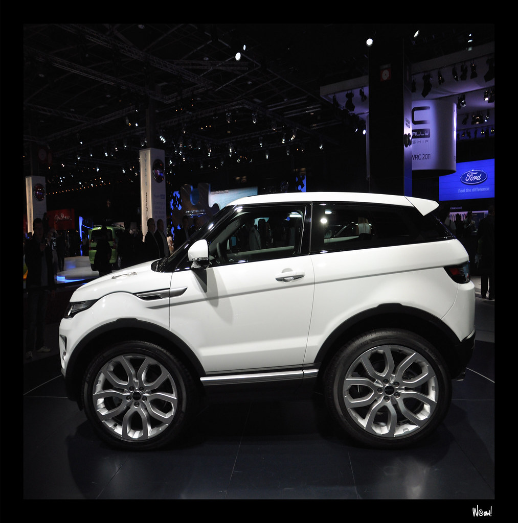 mini range rover evoque mondiale de l 39 automobile 2010