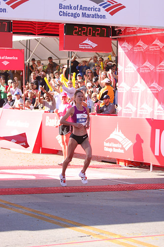 Liliya Shobukhova successfully defended her Chicago Marathon title 10-10-10 | by Studio Finch - Jason & Ela