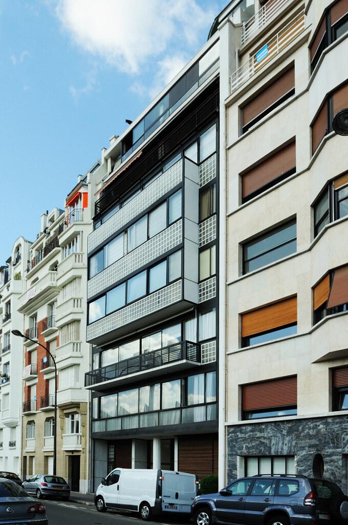 Immeuble Molitor Appartement De Le Corbusier Immeuble