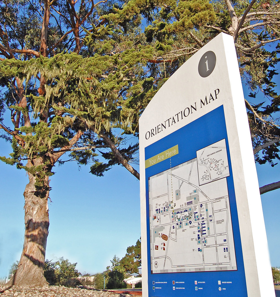 Csu Monterey Bay Campus Map.Csumb Campus Signage Photo By Don Porter Csu Monterey Bay Flickr