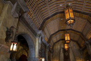Hollywood Hotel, Tower of Terror | Inside the BEAUTIFUL ... Hollywood Tower Of Terror Inside