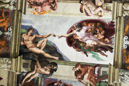 The Creation of Adam | Michelangelo | by ©HTO3