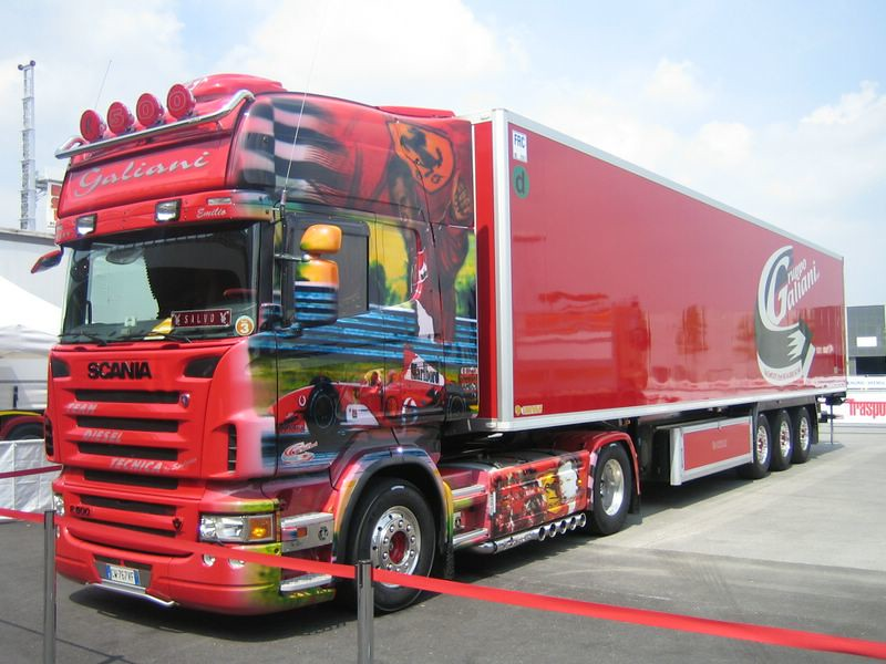 scania truck r580 colorazione ferrari criminal82 flickr. Black Bedroom Furniture Sets. Home Design Ideas