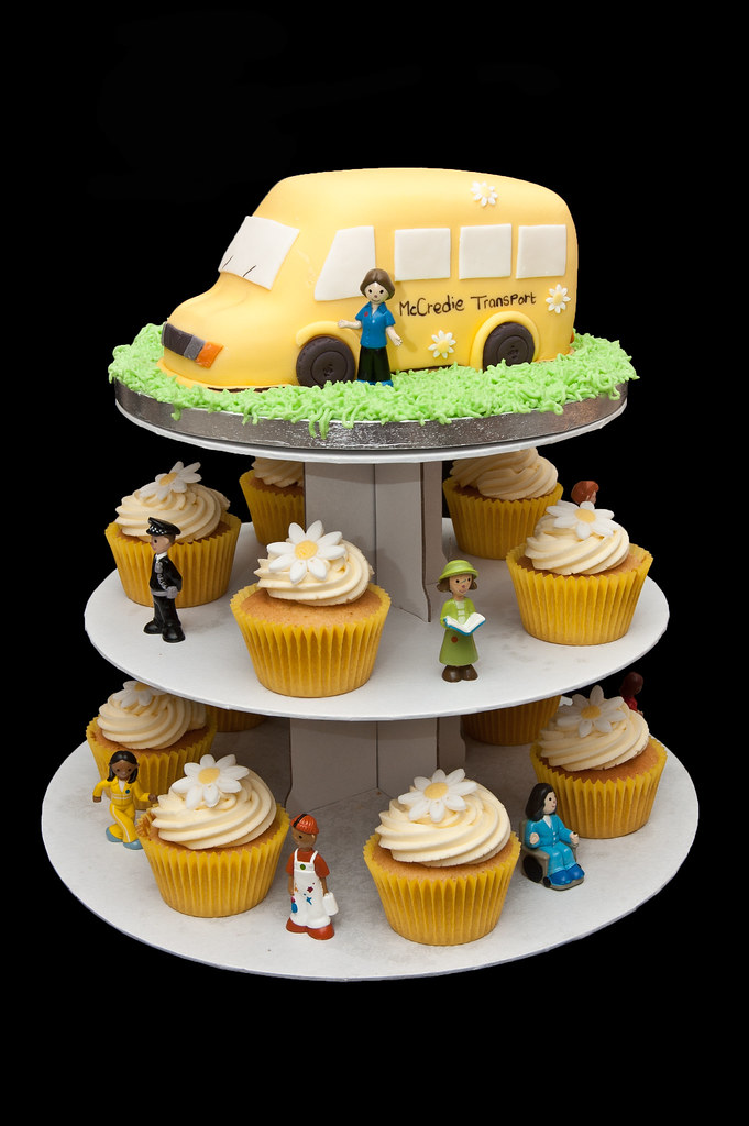 Balamory Plus Cupcakes My Sons 4th Birthday Cake The