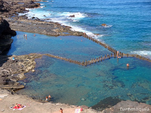 Roque prieto gran canaria para saber mais visite www t flickr - Piscinas naturales galdar ...