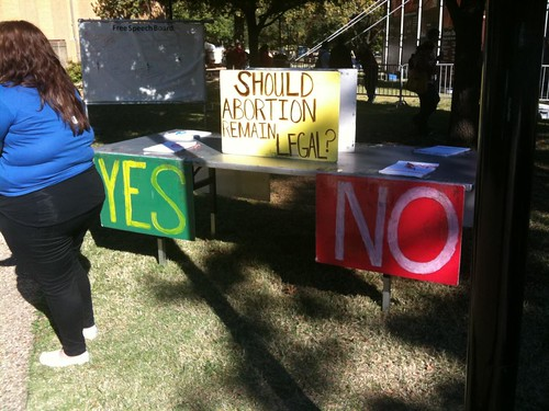 Anti-Abortion Education Campaign (UNT) | by Wesley Fryer