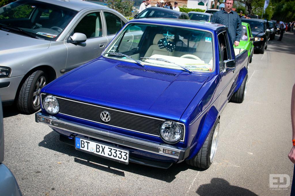 Volkswagen New Truck >> VW Caddy Mk1 | Worthesee 2010 | Eurodubs .com | Flickr