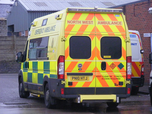 (928) NWAS - North West Ambulance Service - Fiat Ducato - PN10HTJ | by Call the Cops 999