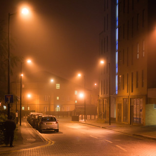 A misty night in Sheffield [Explored!] | by Greg McMullin