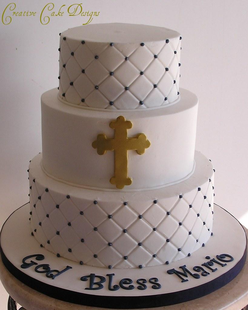 Navy Cake Stand