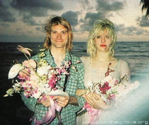 Kurt Coabin y Courtney Love 1992 | anecdotariodelrock | Flickr