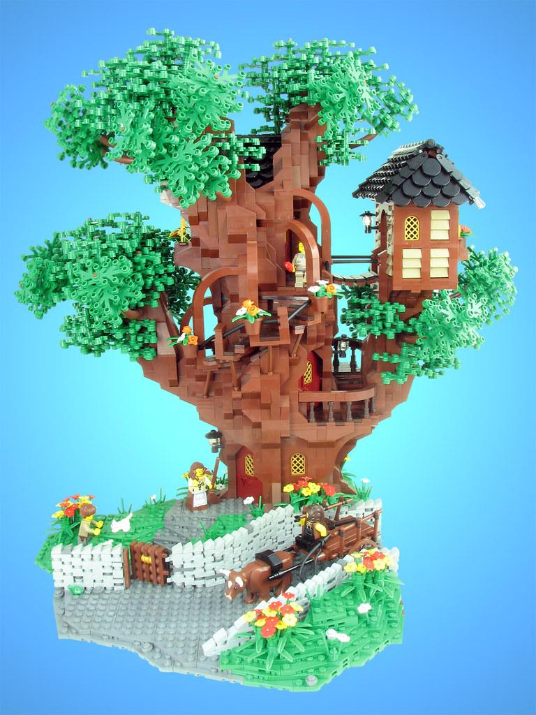 Minecraft Lego House Mrs. Merple's Treehous...