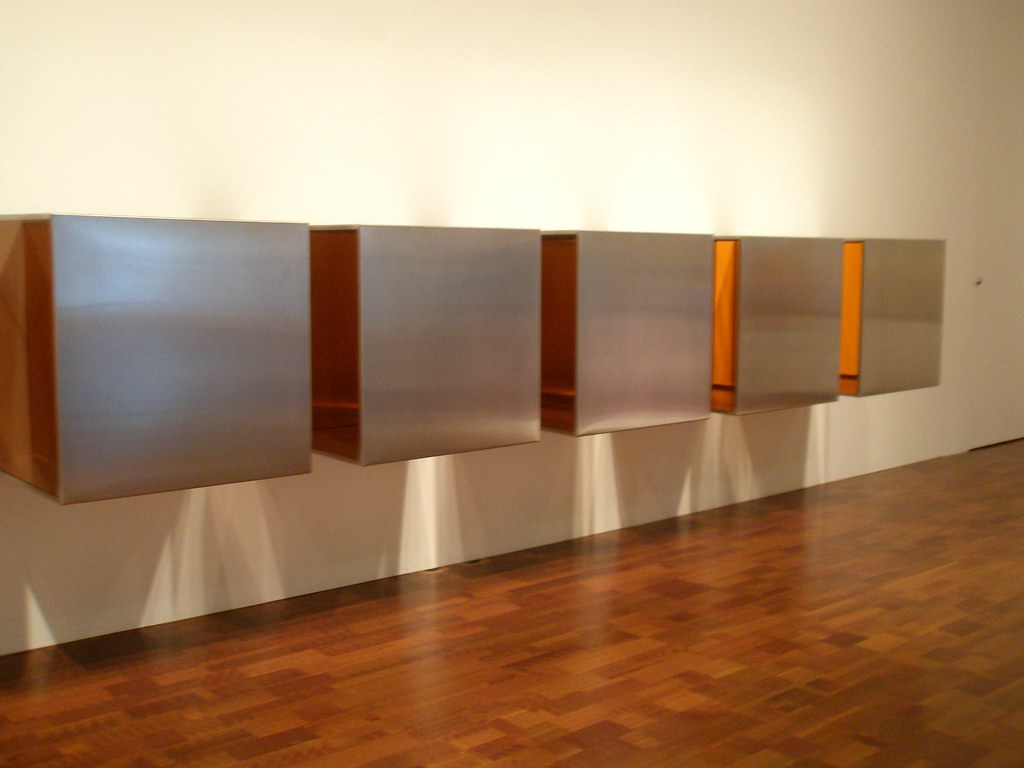 Donald judd untitled 1966 images for Minimal art opere