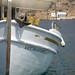 A boat at Kamares port - Sifnos, Greece