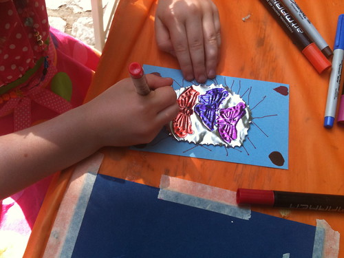 Metal Embossing at the Fiesta Arts Fair | by colleenpence