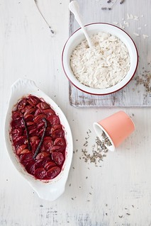 Making Plum Rice Pudding | by tartelette