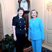 Helen Clark meets with Hillary Clinton