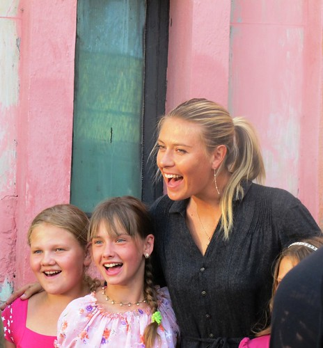 Tennis champion Maria Sharapova visiting children in Belarus2 | by United Nations Development Programme