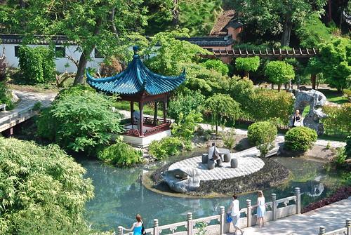 Le jardin chinois pairi daizapark belgium stephane for Conception jardin chinois