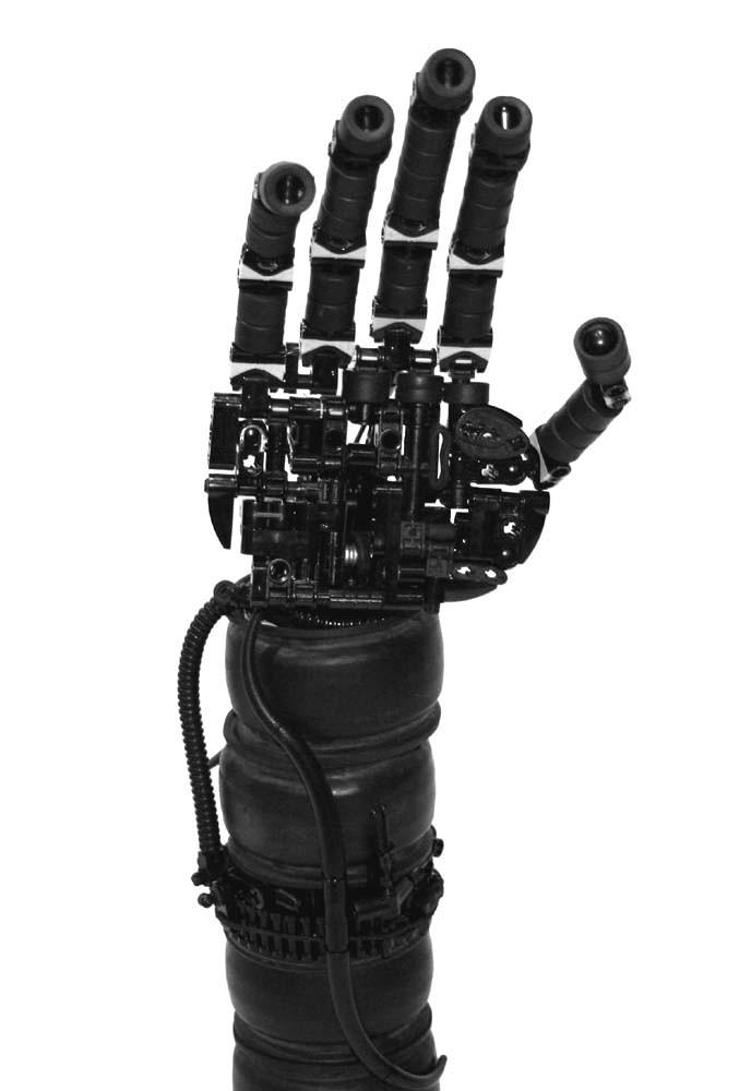 Robotic hand 2 | Terminator meets black fantasy? This