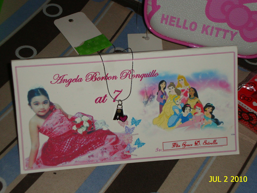Angela Ronquillo 7th Birthday