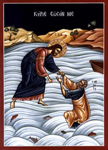 miracke-christ-saving-peter-on-the-water-01 | by Saint Nicholas Orthodox Church