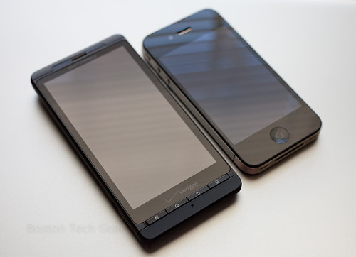 Droid X vs. iPhone 4 | by Louis Abate