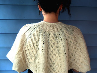 Aran Capelet | by The Knitting Glaistig