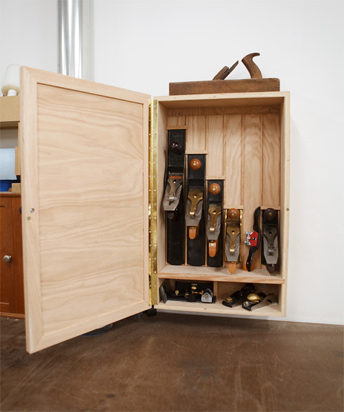 Hand Plane Cabinet | Made a proper storage cabinet for ...