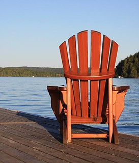 wood muskoka chair | by Canadian Blog