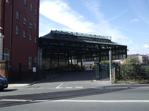 The Old Railway Station Behind South Western House Southa