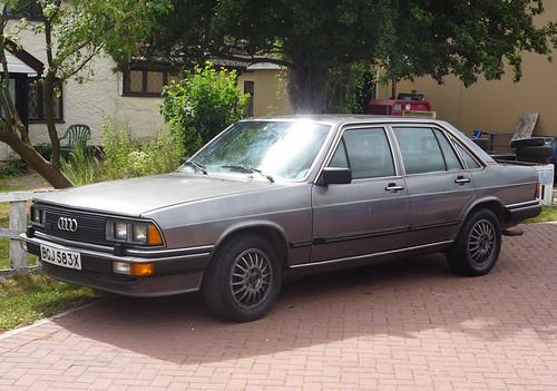 1981 Audi 200 5t Turbo Spottedlaurel Flickr