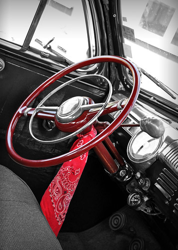 1946 Ford 5 Window Coupe Interior - 2010 NSRA Nostalgia Drags | by Motorsport in Pictures