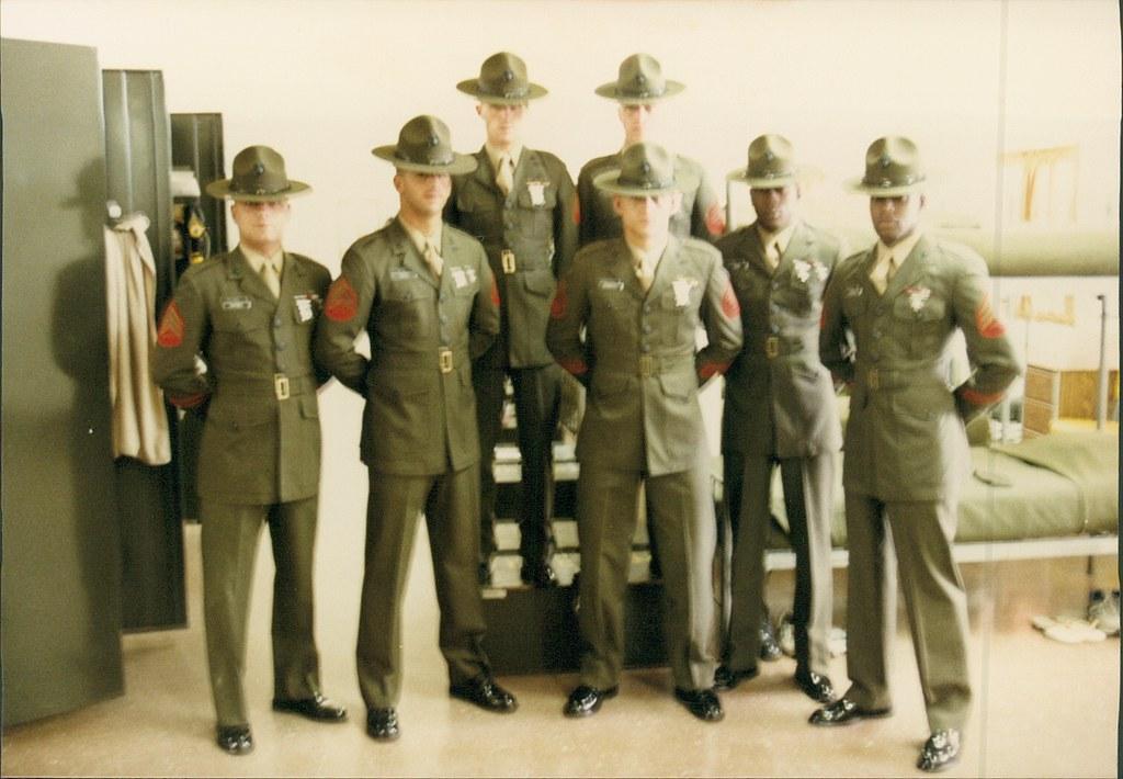 Marine Corps Drill Instructor School Graduation: 1985 | Flickr