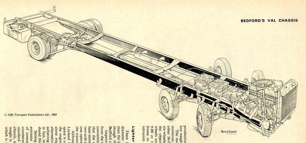 Bedford Val Chassis Drawing Scan Something Of An