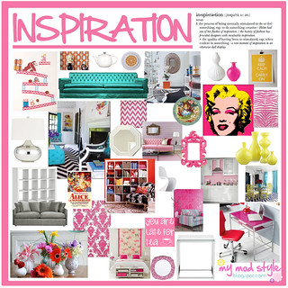 My Inspiration Board - July 2010 | by Jessie {Creating Happy}