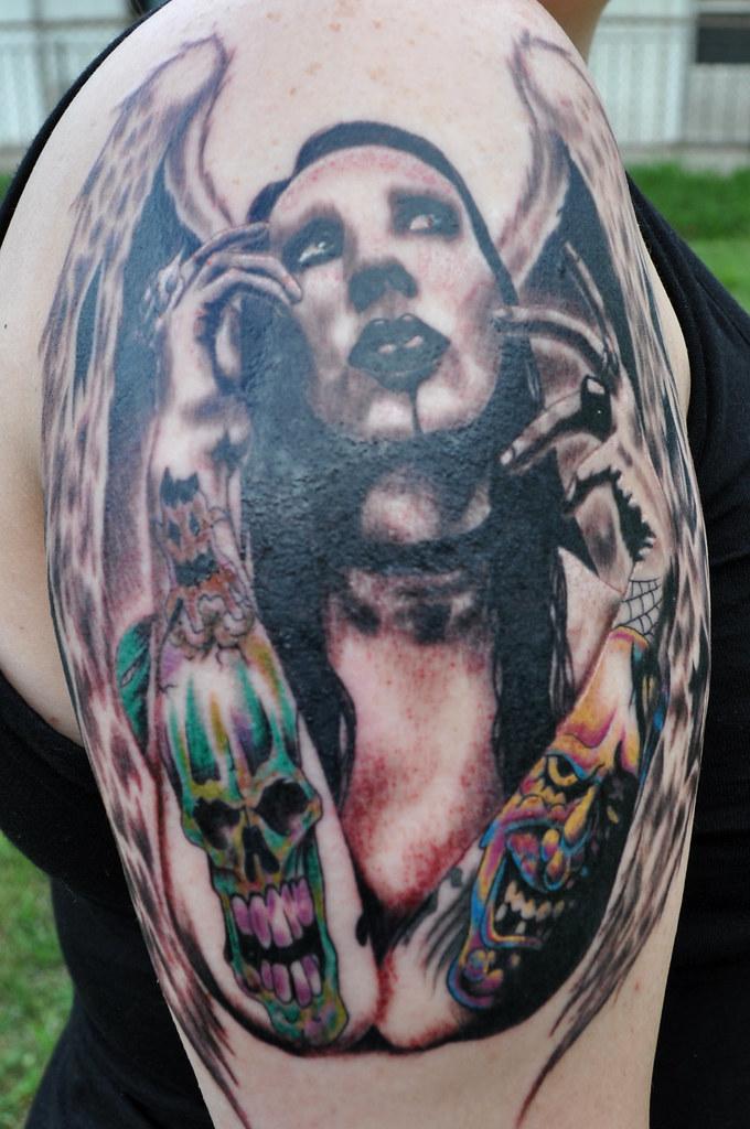 Marilyn Manson Tattos: Inked On July 19, 2010 Artist