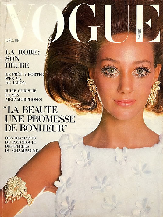 Vogue French Magazine Subscription: French Vogue,December 1967