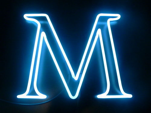 The Letter M | by Lite Brite Neon