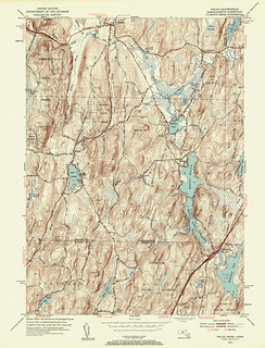 Wales Quadrangle 1952 - USGS Topographic Map 1:24,000 | by uconnlibrariesmagic