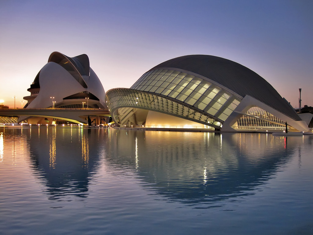 The city of arts and sciences valencia the city of for Top design hotels valencia