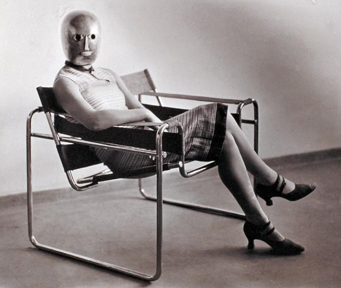 Erich Consem 252 Ller Woman In B3 Club Chair By Marcel Breuer
