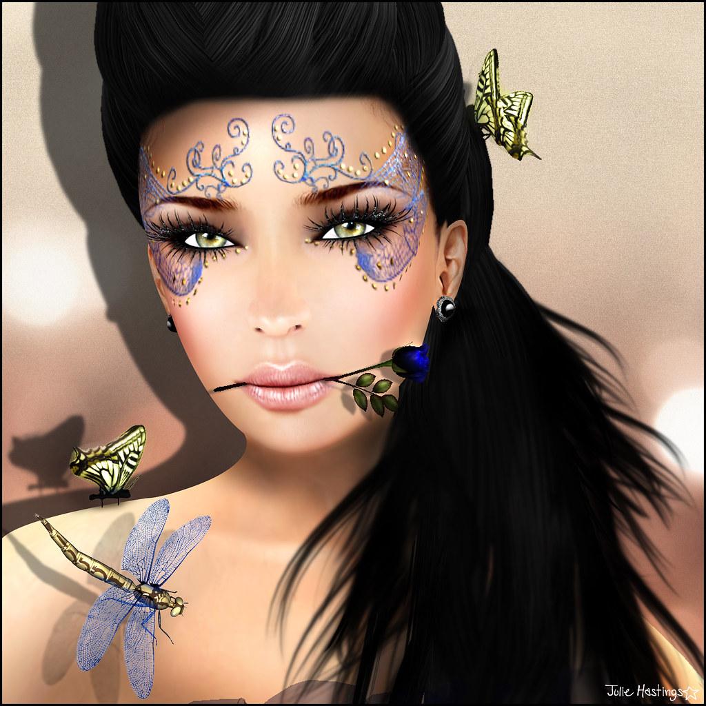 [White~Widow] Tattoo - Dragonfly