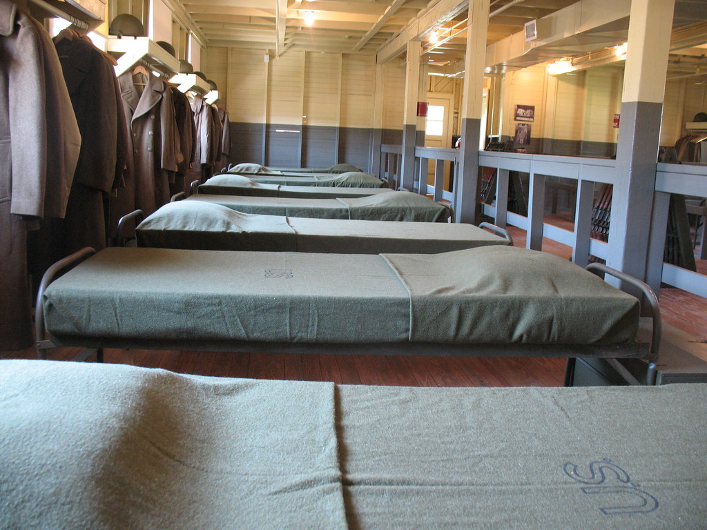 barracks beds3058 quotbarracks 6374 man this is the area