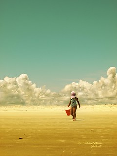 When a child walks ahead of clouds | by Ekler