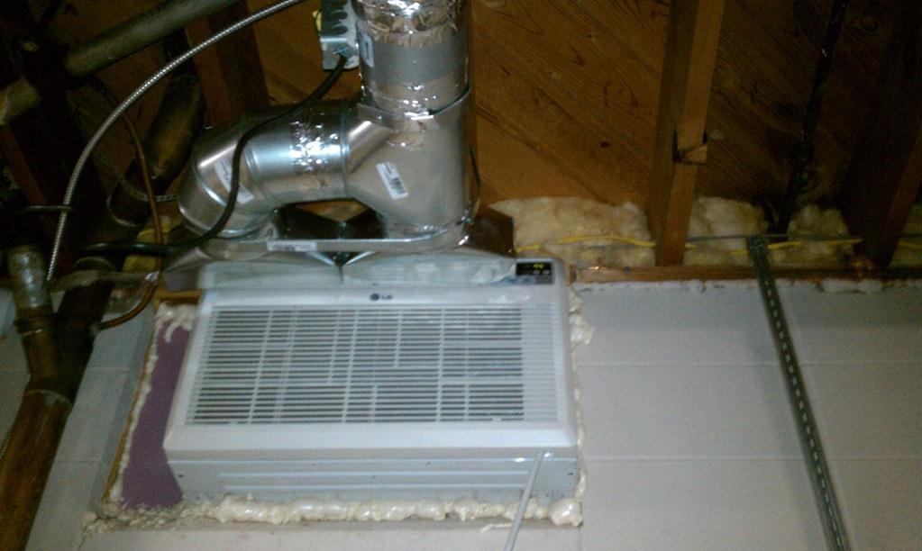 Assembled ac ducting 18 000 btu 1 5 ton window unit for 18000 btu window ac units
