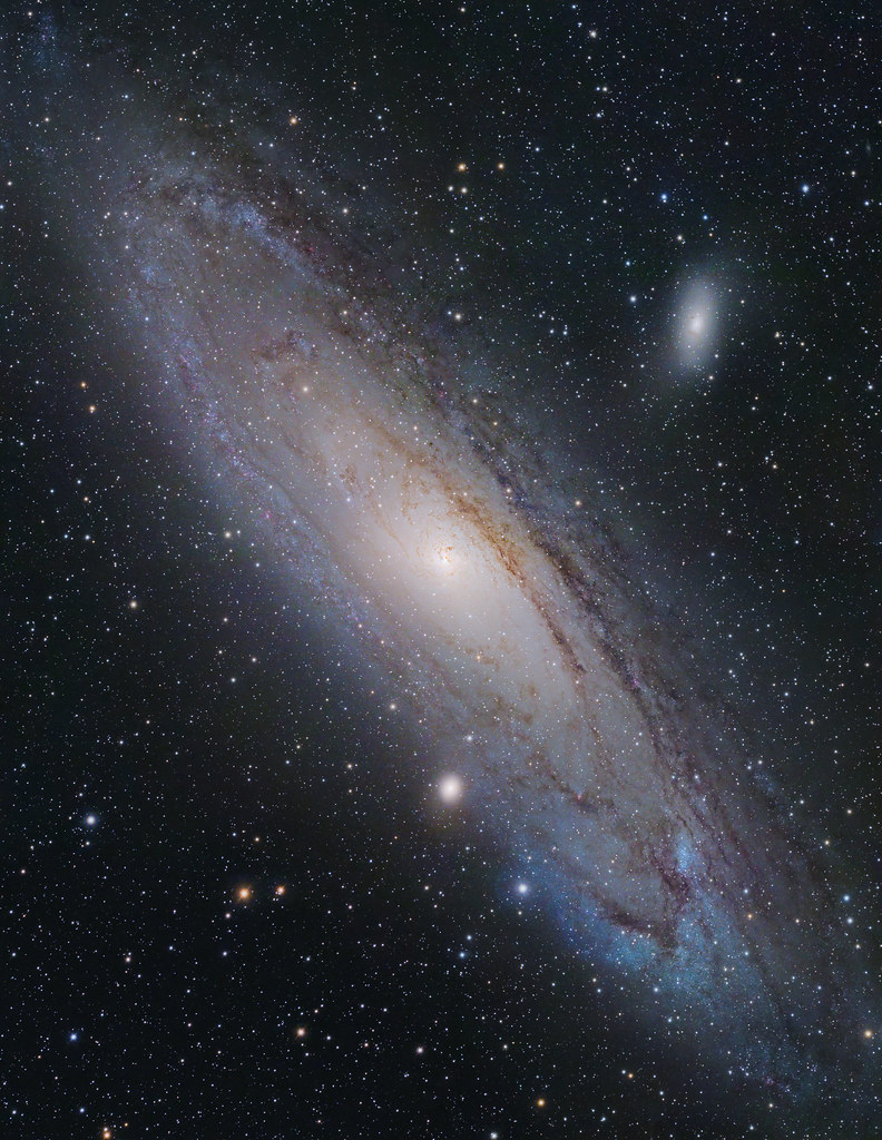 Andromeda Galaxy   New high-resolution 8-frames(+1 for ...