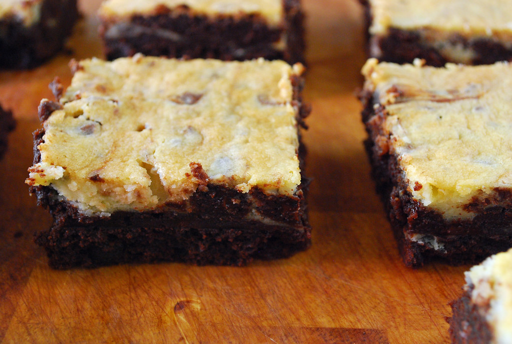 Cream Cheese Brownies With Chocolate Cake Mix
