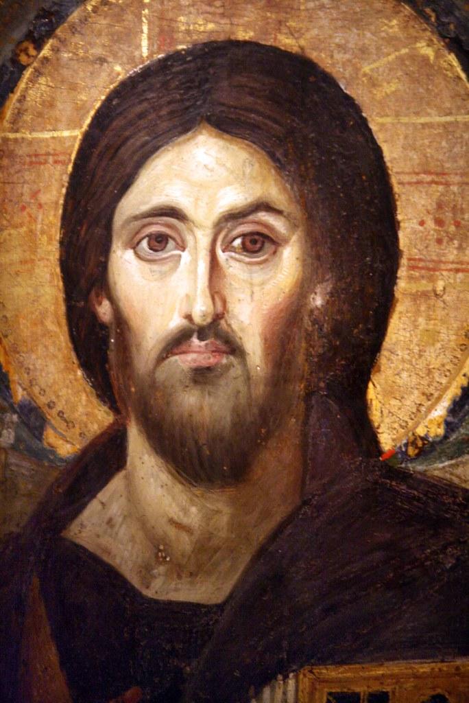 R Symbol Christ Pantocrator, St...
